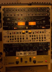 Analog Gear Home Studio Samuel Christen