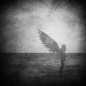 Photo black & white from Natalia Ciric for the song Beautiful Angel from Samuel Christen