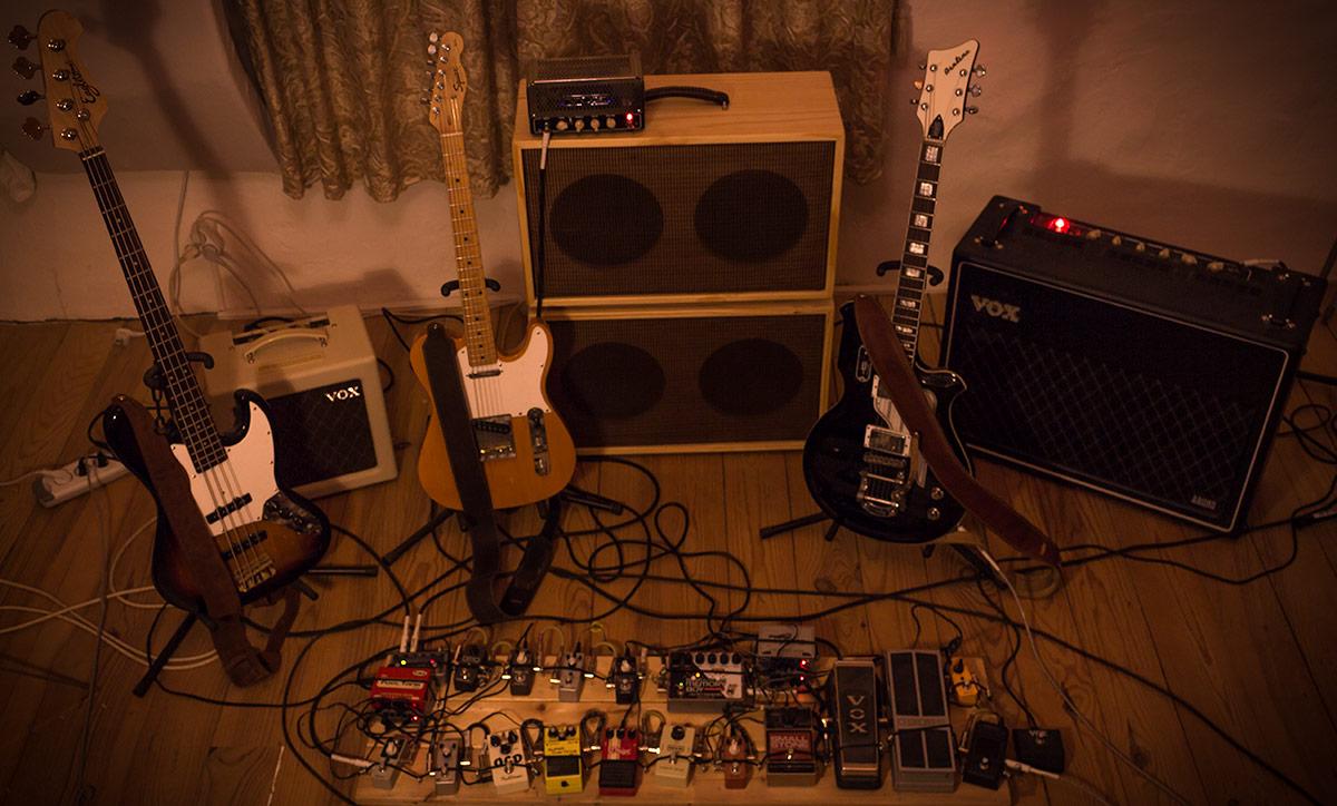 Guitars Home Studio Samuel Christen