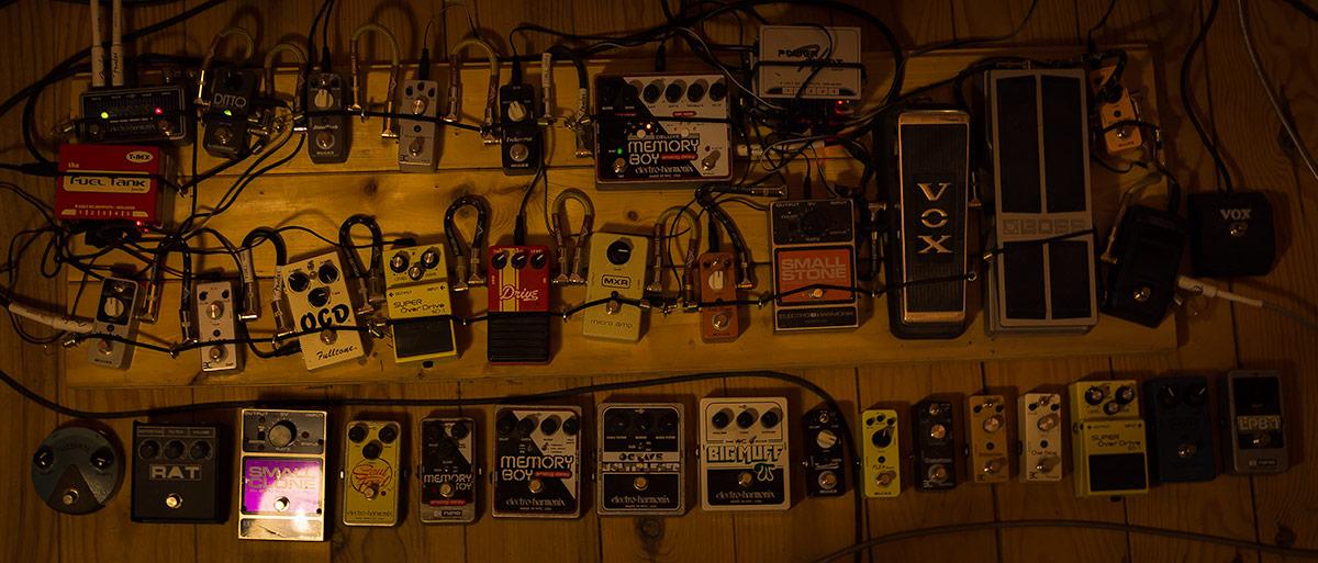 Pedals Home Studio Samuel Christen
