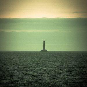 mer, phare, vert